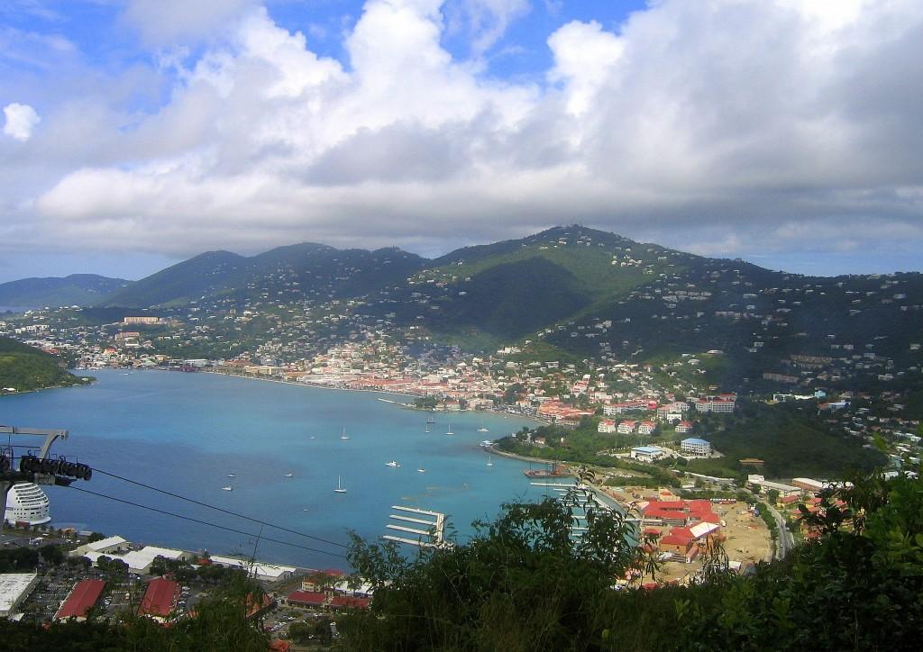 Zdjęcia: Charlotte Amalie, St.Thomas , Paradise Point, WYSPY DZIEWICZE STANÓW ZJEDNOCZONYCH