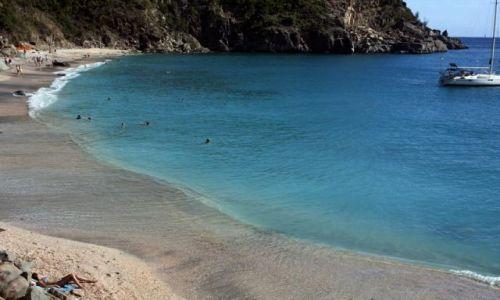 Zdjęcie WYSPY KARAIBSKIE / Gustavia / St. Barts / Shell Beach