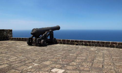 Zdjęcie WYSPY KARAIBSKIE / - / Saint Kitts i Nevis / Saint Kitts  / Brimstone Hill Fortress