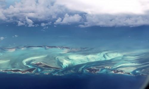 Zdjecie WYSPY KARAIBSKIE / Karaiby  / Karaiby  / piekne Karaiby z samolotu