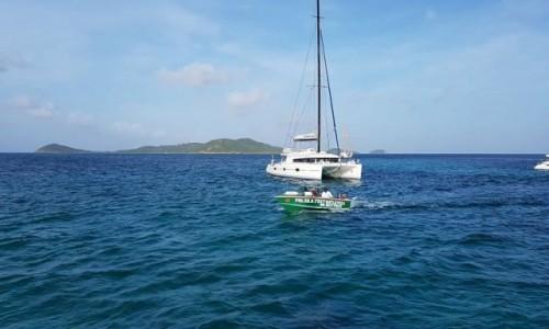 Zdjecie WYSPY KARAIBSKIE / Tobago Cays / morze / Sympatia :)