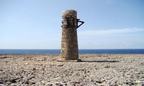 Zdjęcie WYSPY KARAIBSKIE / Bonaire / Washington Slagbaai National Park / kiedyś latarnia