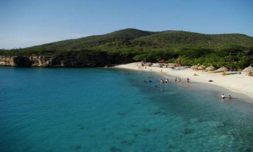 Zdjęcie WYSPY KARAIBSKIE / Curacao / brak / plaża 1