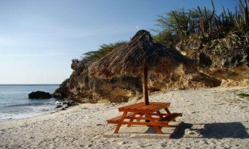 Zdjęcie WYSPY KARAIBSKIE / Curacao / brak / plaża 2