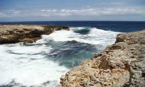 Zdjęcie WYSPY KARAIBSKIE / Curacao / Shete Boka National Park / nad brzegiem morza 19