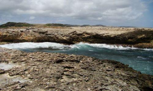 Zdjęcie WYSPY KARAIBSKIE / Curacao / Shete Boka National Park / nad brzegiem morza 20