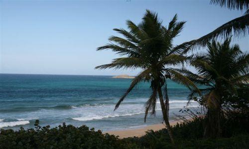 Zdjecie WYSPY KARAIBSKIE / Puerto Rico / Portoryko / na północnym wybrzeżu / Plaża 1