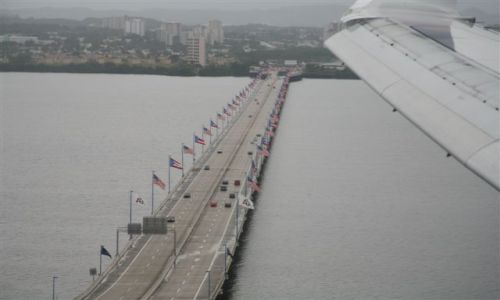 Zdjęcie WYSPY KARAIBSKIE / Puerto Rico / Portoryko / San Juan / Most im. Teodoro Moscoso