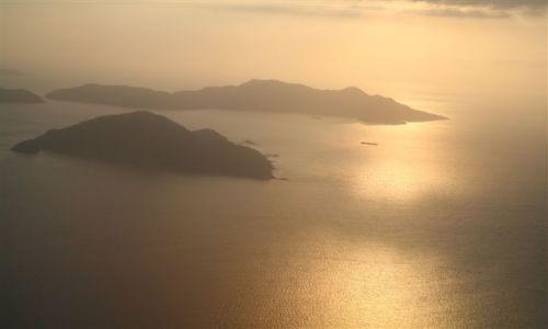Zdjęcie WYSPY KARAIBSKIE / Panama  / Wyspy Perłowe / widoki z samolotu