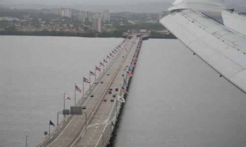 Zdjęcie WYSPY KARAIBSKIE / Puerto Rico / Portoryko / San Juan / Teodoro Moscoso Bridge