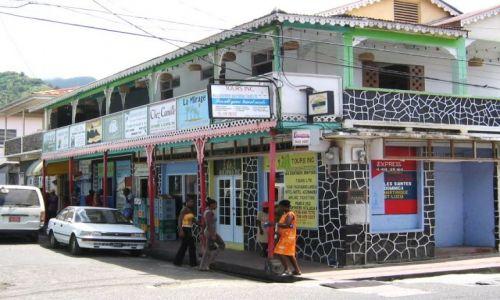 Zdjęcie WYSPY KARAIBSKIE / St. Lucia / Soufriere / Supermarket