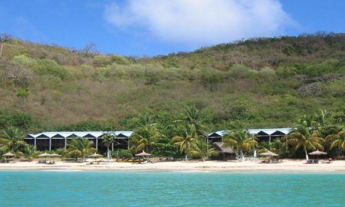 Zdjęcie WYSPY KARAIBSKIE / Belize / od strony północnej / Plaża ...
