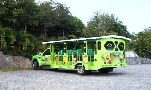 Zdjęcie WYSPY KARAIBSKIE / Brytyjskie Wyspy Dziewicze / Tortola / Wesoły autobus