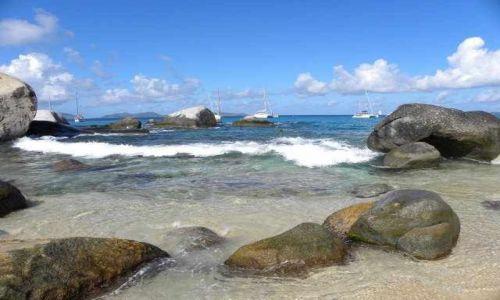 Zdjęcie WYSPY KARAIBSKIE / Małe Antyle / Tortolla / morze karaibskie