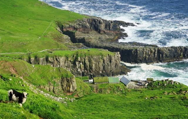 Zdjęcia: Mykines, Sørvágur, Przystań rybacka, WYSPY OWCZE