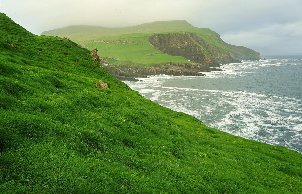 Zdjęcia: Mykineshólmur , Mykines, Z wyspy na wyspę, WYSPY OWCZE