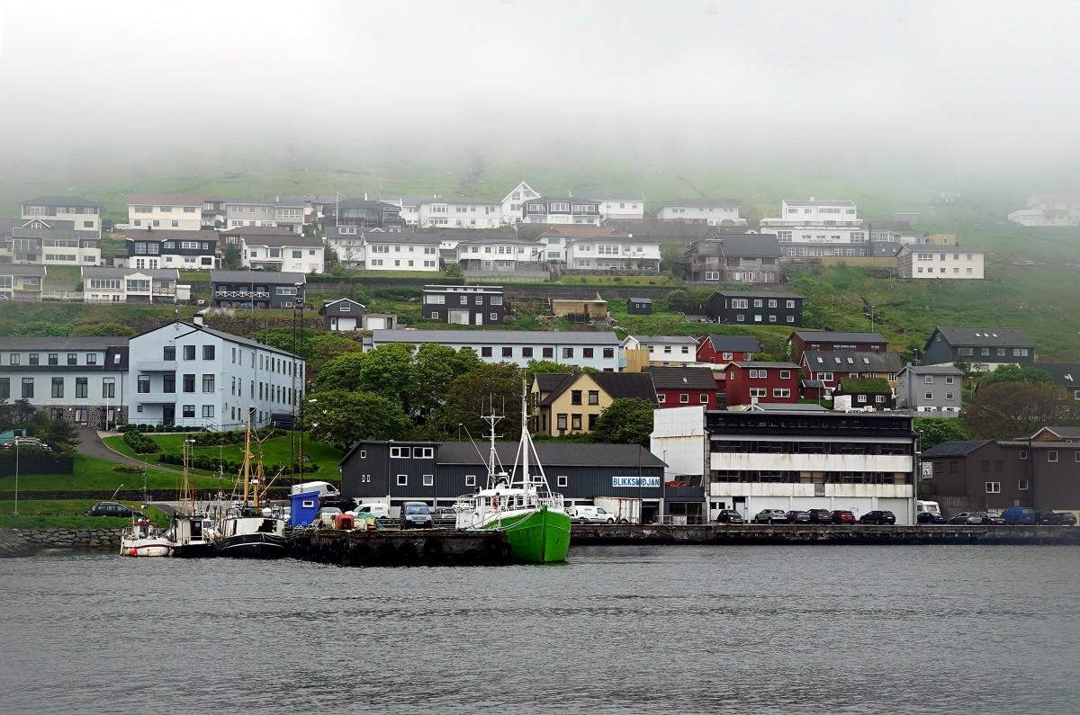 Zdjęcia: Klaksvik, Borðoy., Port rybacki, WYSPY OWCZE