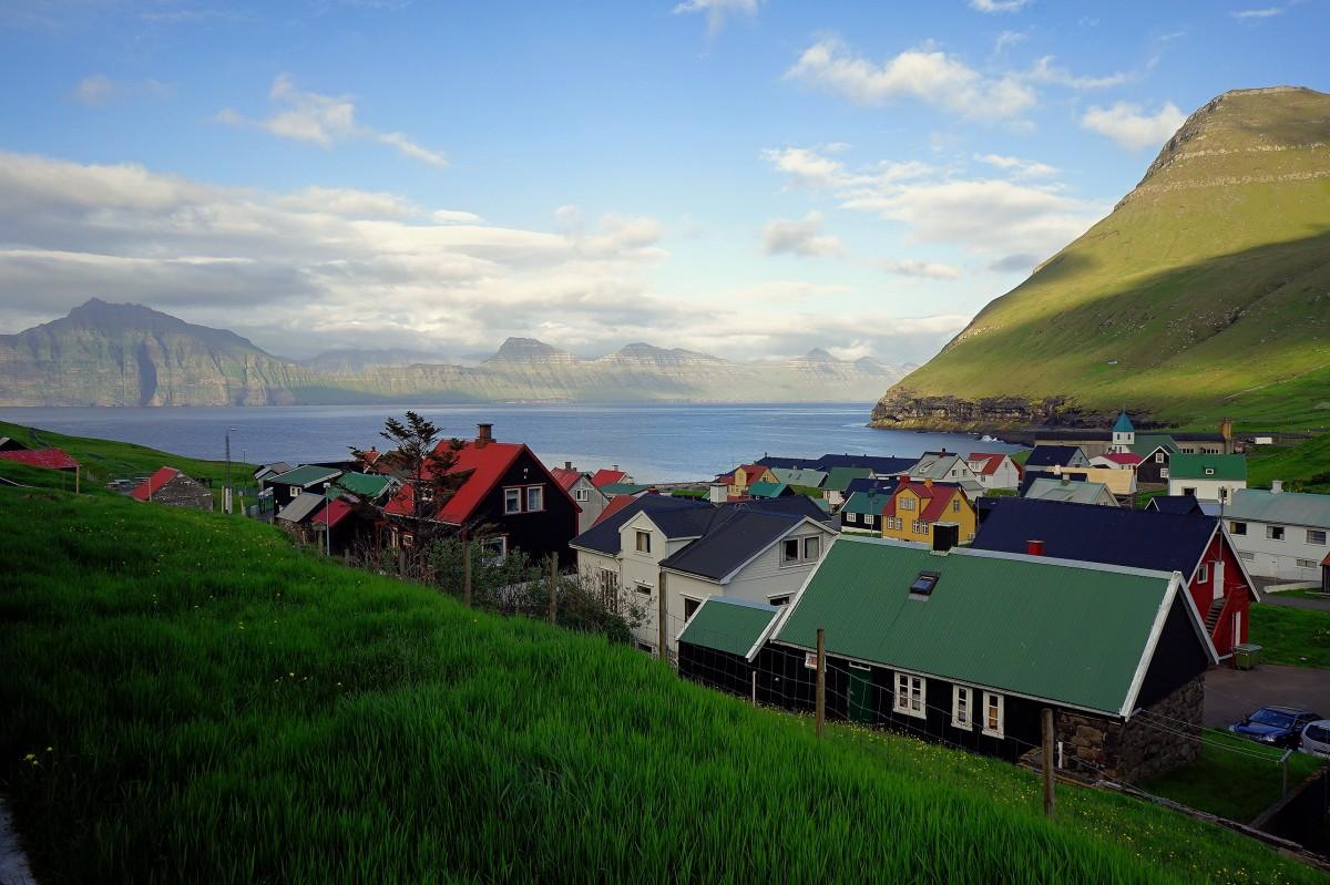 Zdjęcia: Gjógv , Wyspa Eysturoy, Taki sobie widoczek, WYSPY OWCZE
