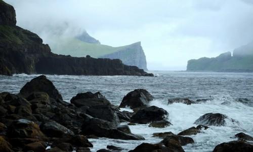 WYSPY OWCZE / Wyspa Vágar / Sørvágur / Surowe piękno