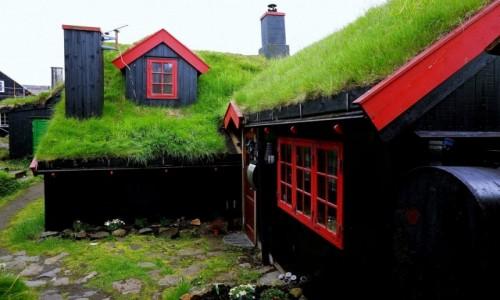 Zdjęcie WYSPY OWCZE / Wyspa Streymoy / Thorshavn / Domki