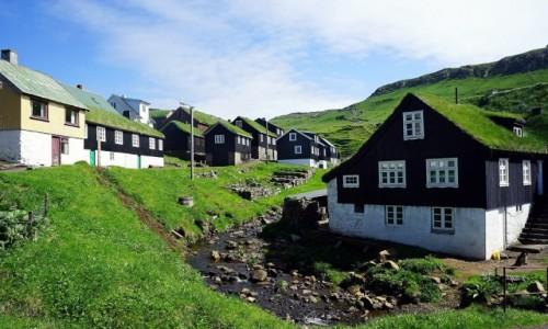 WYSPY OWCZE / Sørvágur / Mykines / Zielona osada