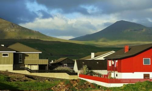 Zdjęcie WYSPY OWCZE / Wyspa Eysturoy / Duvugarðar / Osada