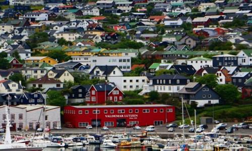 Zdjecie WYSPY OWCZE / Thorshavn / Thorshavn / Stolica Wysp Owczych.