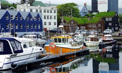 Zdjecie WYSPY OWCZE / Wyspa Streymoy / Thorshavn  / Marina