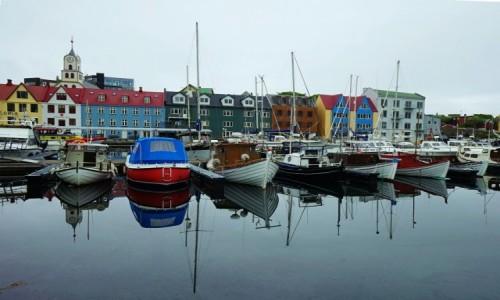 Zdjęcie WYSPY OWCZE / Wyspa Streymoy / Thorshavn  / Przystań rybacka