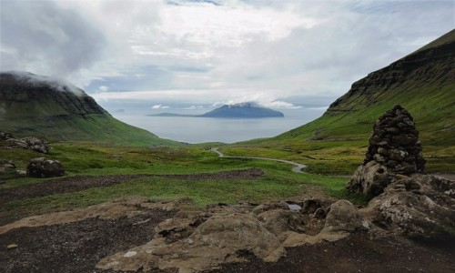 Zdjęcie WYSPY OWCZE / Wyspa Streymoy / Okolice  Saksun  / Po drodze