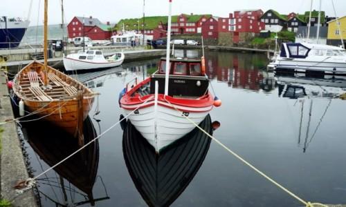 Zdjęcie WYSPY OWCZE / Wyspa Streymoy / Thorshavn  / Przystań