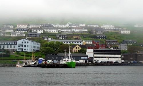 Zdjecie WYSPY OWCZE / Borðoy. / Klaksvik / Port rybacki