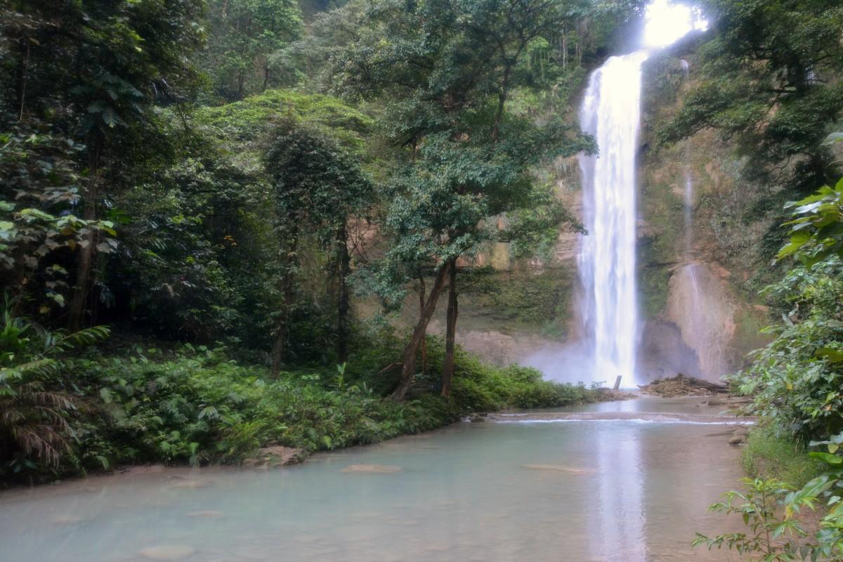 Zdjęcia: Tenaru, Guadalcanal, Wodospad Tenaru, WYSPY SALOMONA