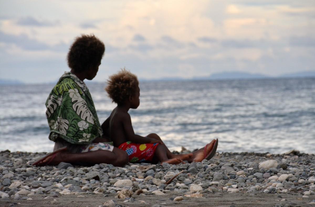 Zdjęcia: Ruaniu, Guadalcanal, Macierzyństwo po salomońsku, WYSPY SALOMONA