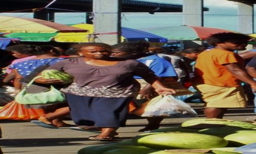 Zdjecie WYSPY SALOMONA / Honiara / Honiara / Zakupy