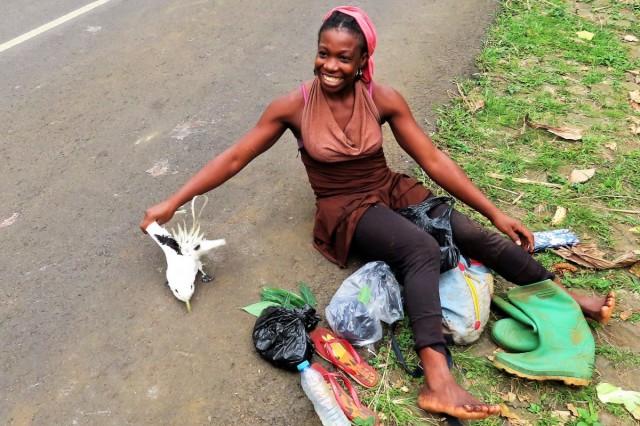 Zdjęcia: Monte Cafe, Sao Tome, Faeton chyba skończy jak kurczak..., WYSPY ŚWIĘTEGO TOMASZA i KSIĄŻĘCA