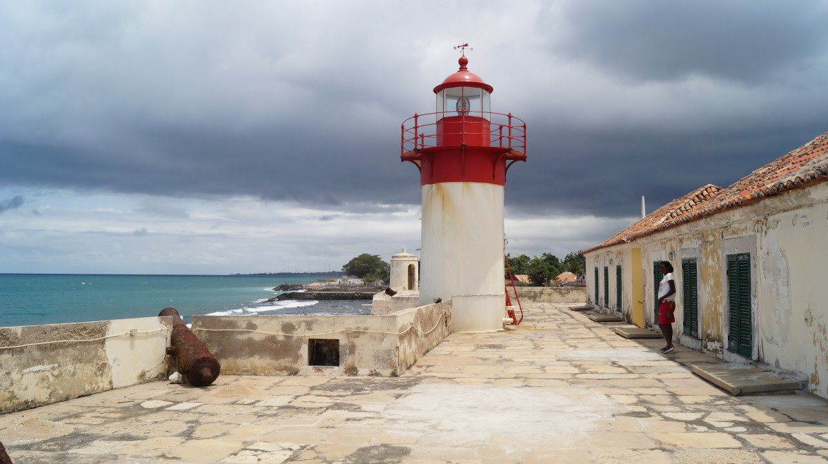 Zdjęcia: Cytadela, Sao Tome, Latarnia na cytadeli, WYSPY ŚWIĘTEGO TOMASZA i KSIĄŻĘCA