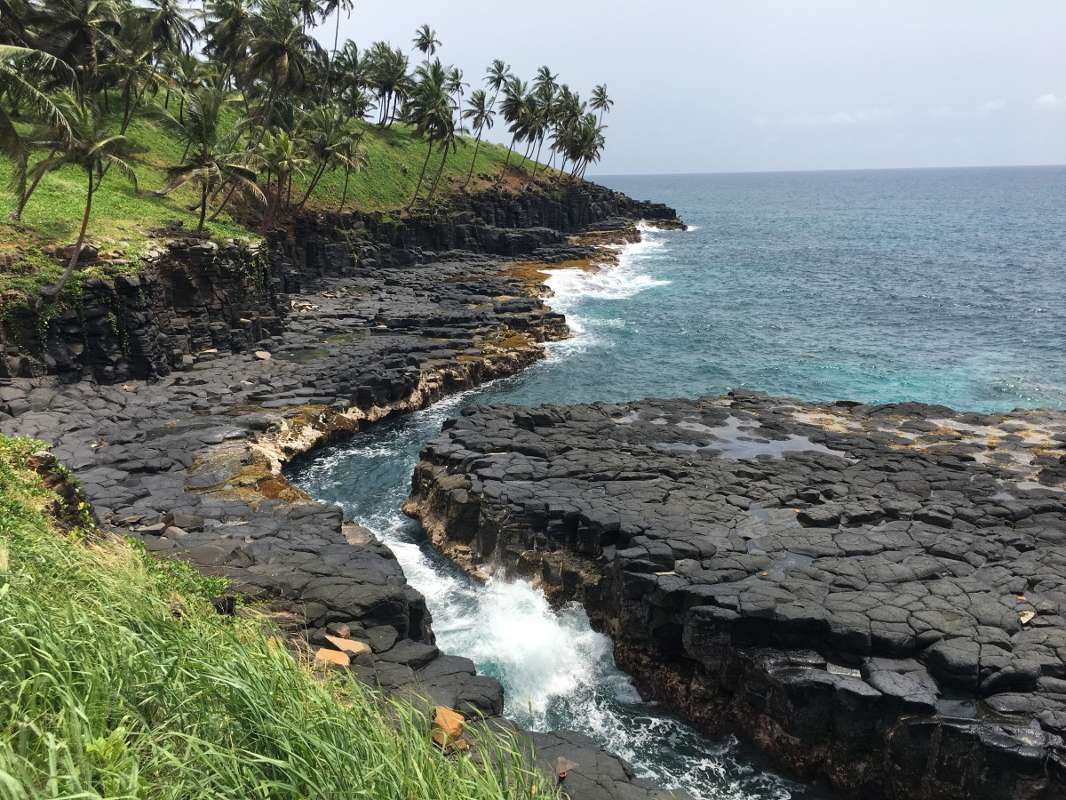 Zdjęcia: Boca do Inferno, Sao Tome, Piekielne usta, WYSPY ŚWIĘTEGO TOMASZA i KSIĄŻĘCA