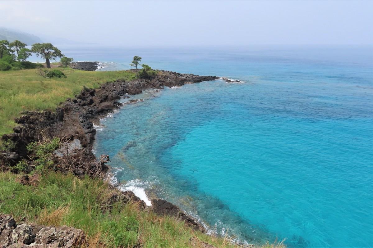 Zdjęcia: Lagoa Azul, Sao Tome, Piękna zatoczka, WYSPY ŚWIĘTEGO TOMASZA i KSIĄŻĘCA