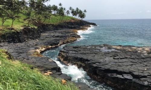 WYSPY ŚWIĘTEGO TOMASZA i KSIĄŻĘCA / Sao Tome / Boca do Inferno / Piekielne usta