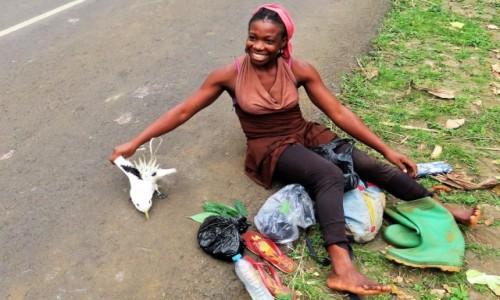 Zdjecie WYSPY ŚWIĘTEGO TOMASZA i KSIĄŻĘCA / Sao Tome / Monte Cafe / Faeton chyba skończy jak kurczak...