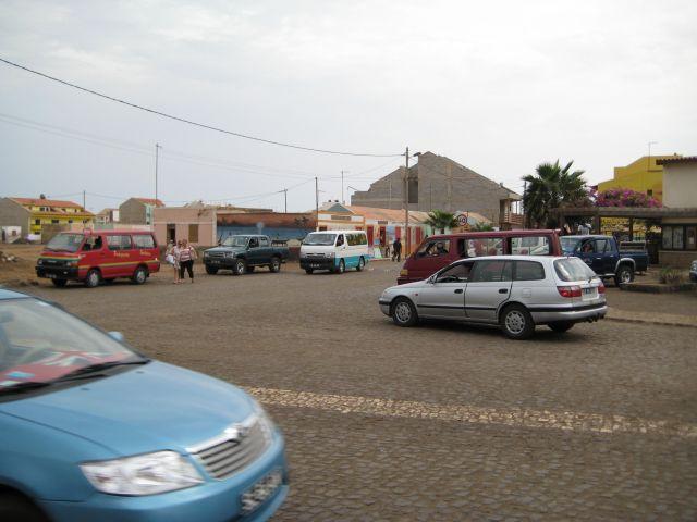 Zdjęcia: Santa Maria, Wyspa Sali, Przystanek busów , Wyspy Zielonego Przylądka