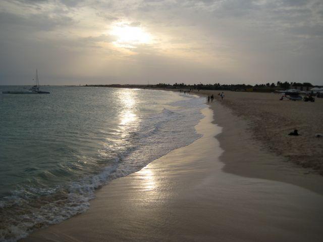 Zdjęcia: Santa Maria, Sali, Zachód słońca na plaży, Wyspy Zielonego Przylądka