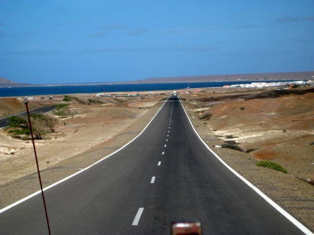 Zdj�cia: Sali, Espargos, Autostrada, Wyspy Zielonego Przyl�dka