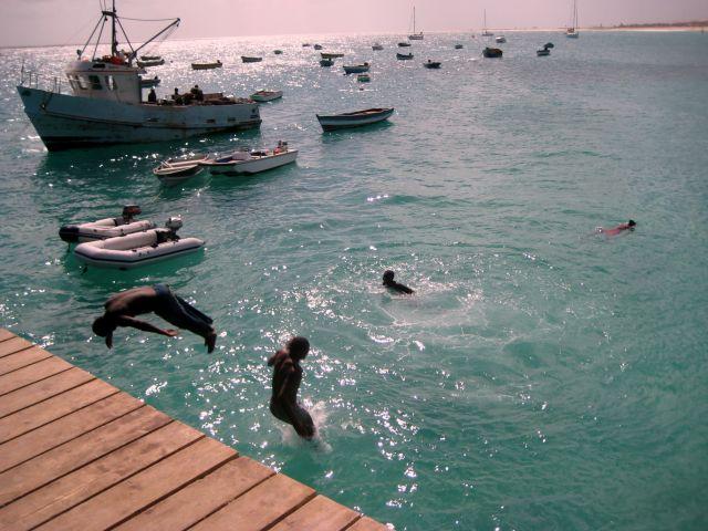 Zdjęcia: Santa Maria, Sali, Rybacy, Wyspy Zielonego Przylądka