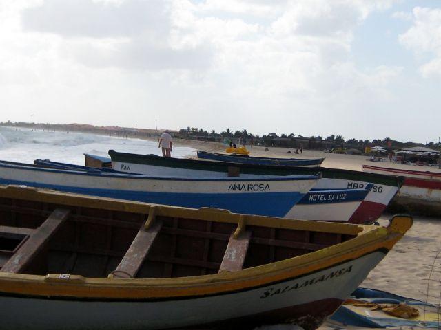 Zdjęcia: Santa Maria, Sali, Łodzie, Wyspy Zielonego Przylądka