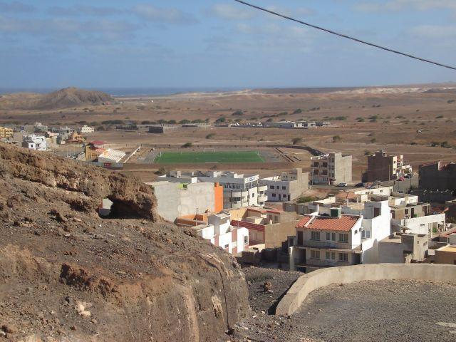 Zdjęcia: Espargos, Sali, Espargos z widok ze wzgórza , Wyspy Zielonego Przylądka