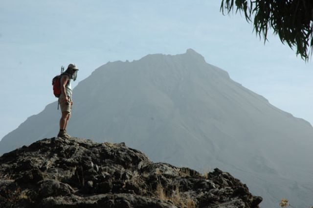 Zdj�cia: Portella, Fogo, w drodze na Pico de Fogo, Wyspy Zielonego Przyl�dka