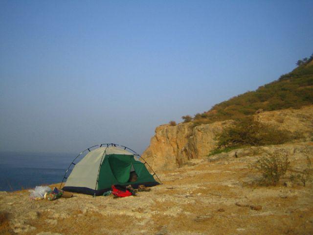 Zdjęcia: Tarrafal, Santiago, spanko z widokiem na ocean, Wyspy Zielonego Przylądka