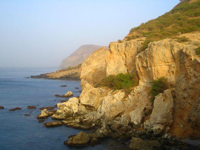 Zdjęcia: Tarrafal, Santiago, klify na północy Santiago, Wyspy Zielonego Przylądka